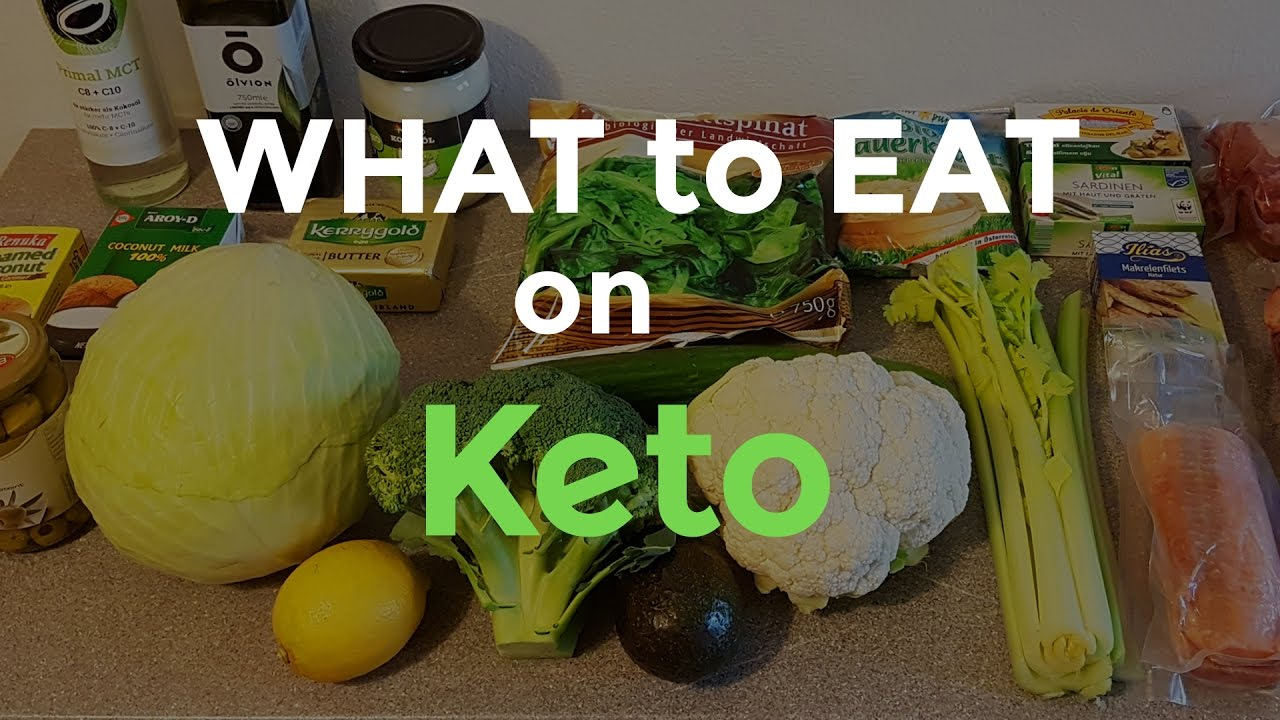 What to eat on the Ketogenic Diet - Our food staples - Minimalist Keto